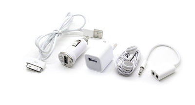 UITVERKOCHT  5-in-1 Charger Kit for iPhone 3GS / 4G / 4S
